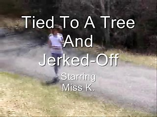 Tied Toatree And Jerked Off (best Of Anlife)
