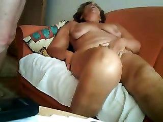 Amateur Older. Great Orgasm Of Slut Grandma 1