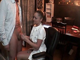 Nurse Needs Sperm Sample