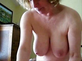 Mature Wife Jerking Cock