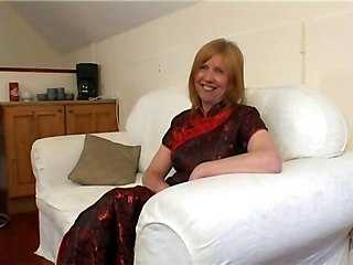 Ginger Brit Mature Loves Fucking And Facial !