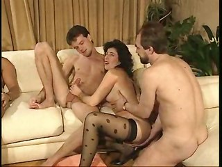Orgy In Vintage Manner!