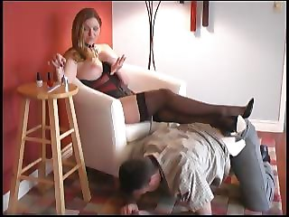 Mistress Punishes Her Slave