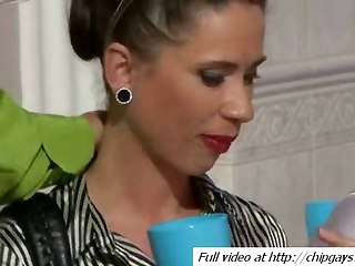 Hot Woman Blowjob Huge Cock
