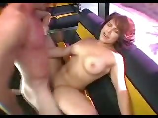 Unrestrained Group Sex In The Bus