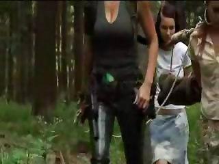 Lesbian Slave Huntress 2