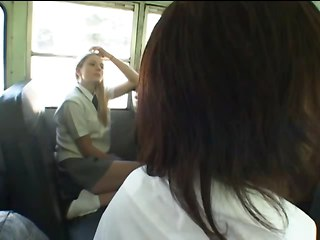Student Jerks On The Bus (censored)