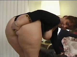 bbw anal threesome